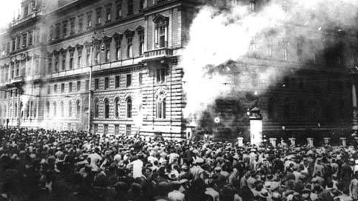 Για την εργατική εξέγερση στην Βιέννη τον Ιούλιο του 1927
