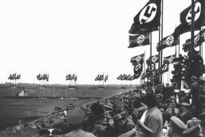 ιστορική φωτογραφία από το συνέδριο της Νυρεμβέργης