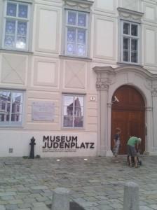 JudenPlatz πλατεία αφιερωμένη στους Αυστριακούς Εβραίους στο κέντρο της Βιέννης