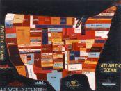 Jules de Balincourt- US World Studies #1, 2003